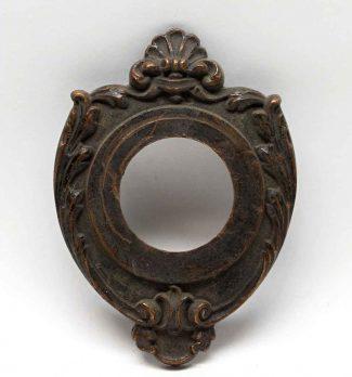 Victorian Bronze Antique Door Bell Cover