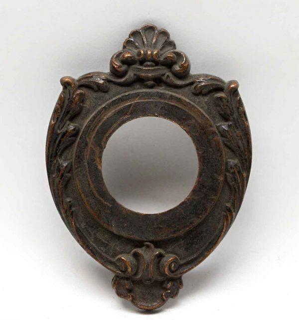 Knockers & Door Bells - Victorian Bronze Antique Door Bell Cover