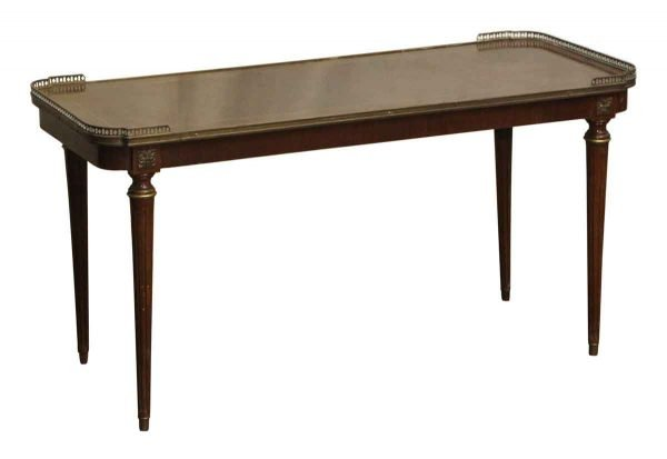 Living Room - Vintage Federal Style Coffee Table