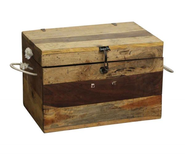Nautical Antiques - Vintage Wooden Boating Trunk