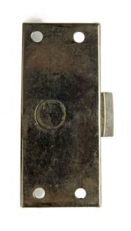 Antique Cabinet Mortise Catch