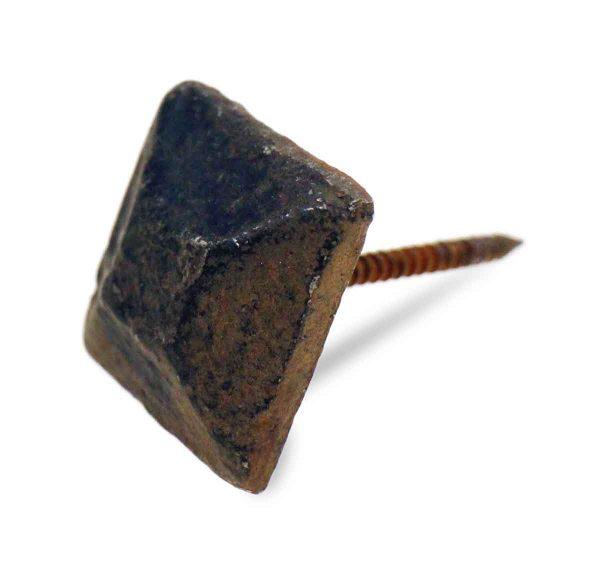 Other Cabinet Hardware - Vintage Black Square Furniture Pin