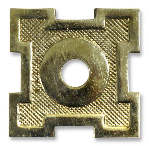 Other Cabinet Hardware - Vintage Brass Drawer Pull Back Plate