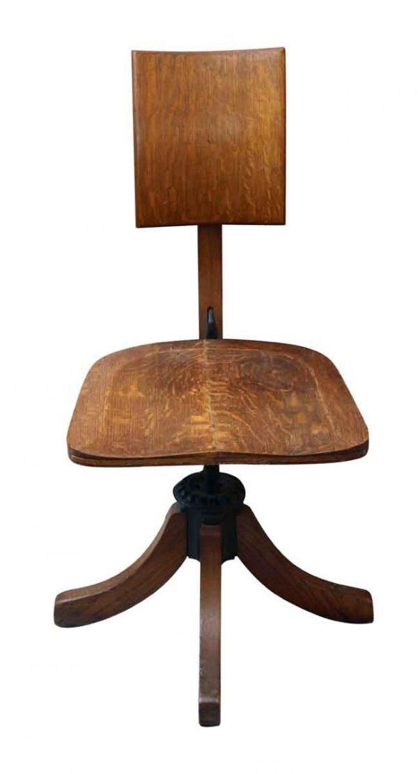Seating - Vintage Oak Office Chair