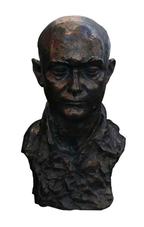 Statues & Sculptures - Antique Bronze Male Figure