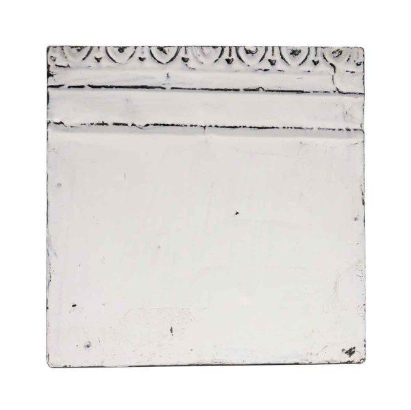 Tin Panels - Border White Antique Tin Ceiling Panel
