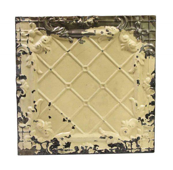 Tin Panels - Cream Cove Antique Tin Ceiling Panel