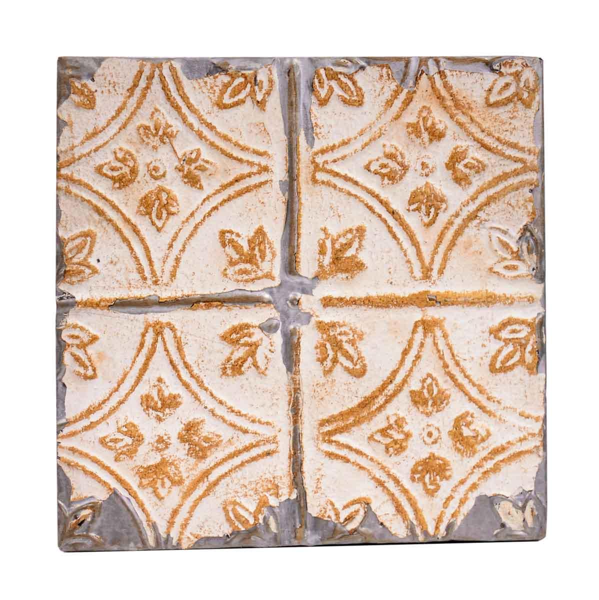 Tin Panels Diamond Tulip Tan Antique Ceiling Panel