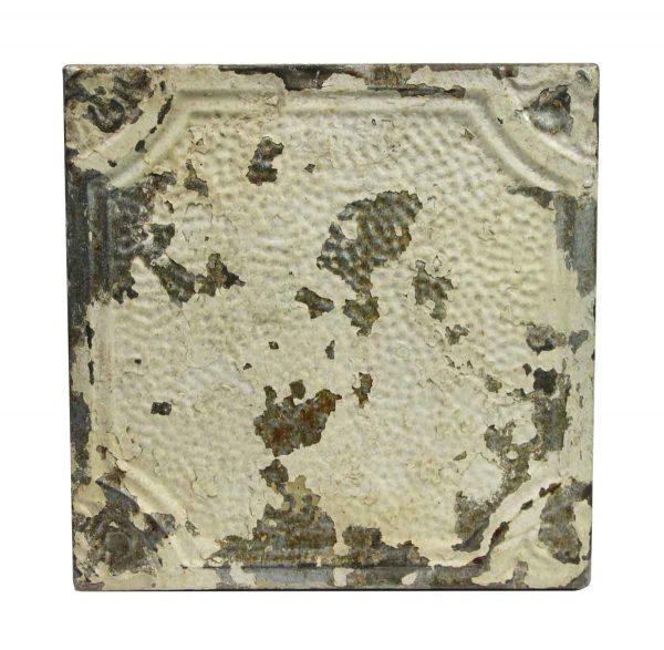 Tin Panels - Distressed Textured Tan Antique Tin Panel