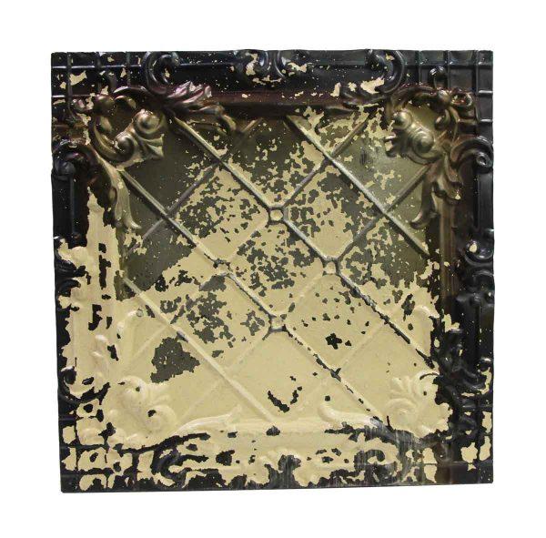 Tin Panels - Distressed White & Silver Cove Antique Tin Panel