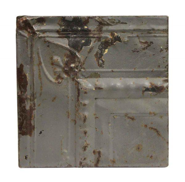 Tin Panels - Gray Corner Cove Antique Tin Ceiling Panel