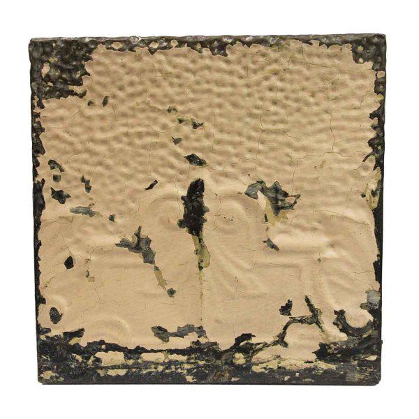 Tin Panels - Light Tan Distressed Antique Tin Panel