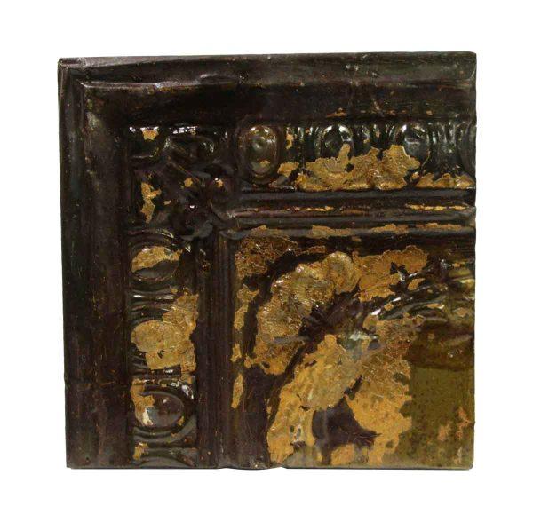 Tin Panels - Raised Cove Corner Antique Tin Ceiling Panel