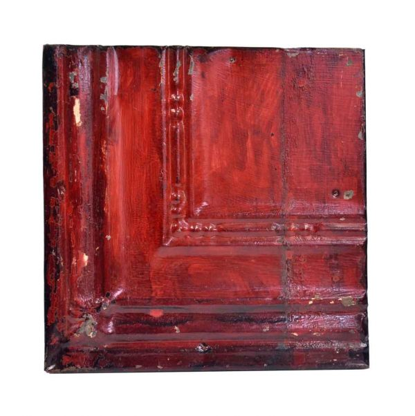 Tin Panels - Red Corner Antique Tin Ceiling Panel