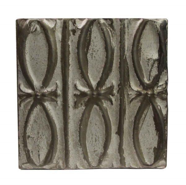 Tin Panels - Silver Fish Pattern Antique Tin Panel