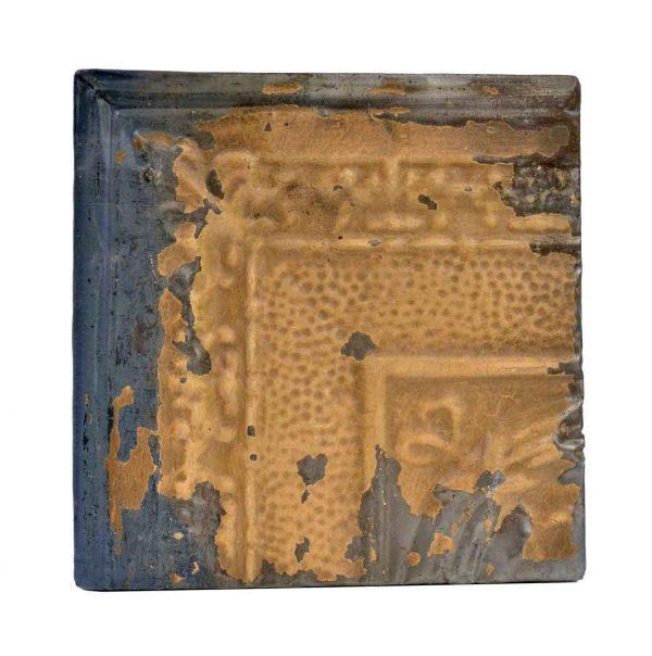 Tin Panels - Tan Cove Corner Antique Tin Ceiling Panel