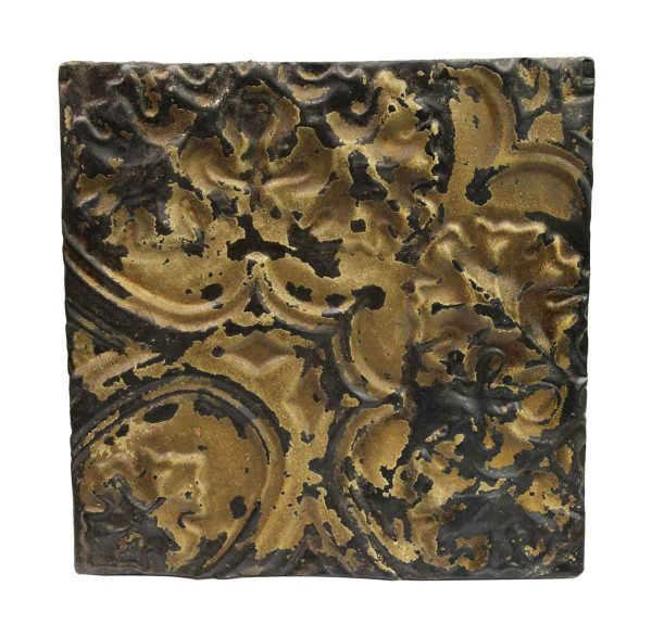 Tin Panels - Tan Raised Distressed Antique Tin Ceiling Panel