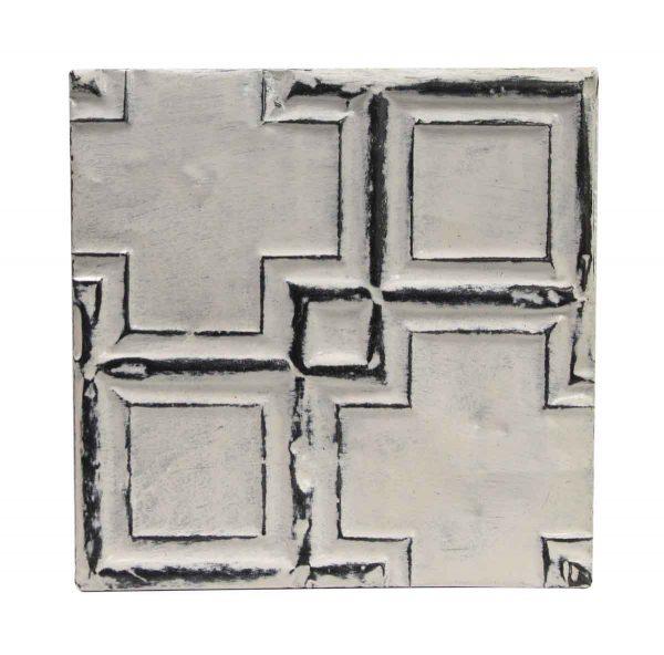Tin Panels - White Cross Antique Tin Ceiling Panel