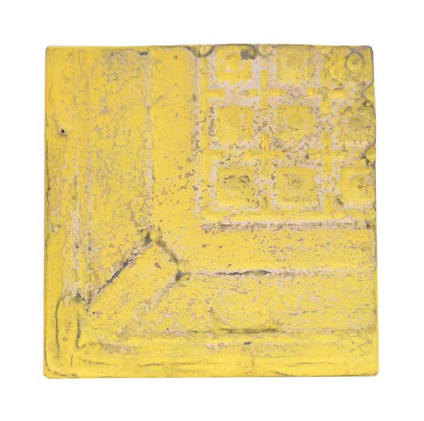 Tin Panels - Yellow Cove Corner Antique Tin Panel