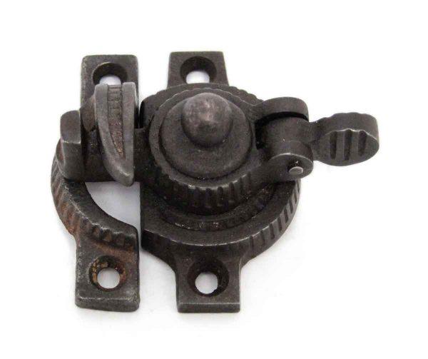 Window Hardware - Antique Cast Iron Eastlake Window Lock