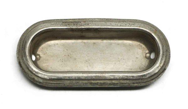 Window Hardware - Vintage Recessed Nickel Brass Window Sash Lift