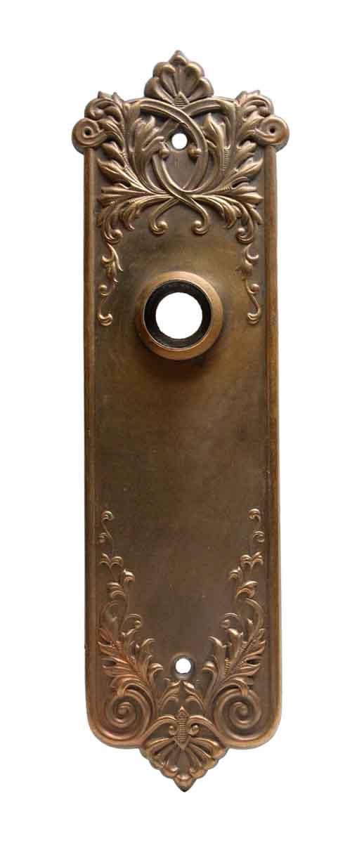 Back Plates - Brass Ornate Back Plate