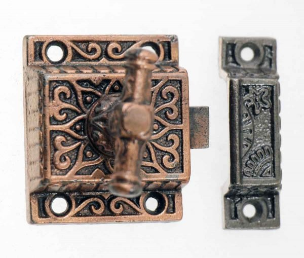 Cabinet & Furniture Latches - Antique Aesthetic Cabinet Latch