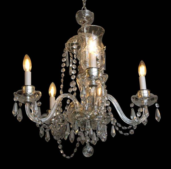 Chandeliers - Small & Elegant Crystal Chandelier
