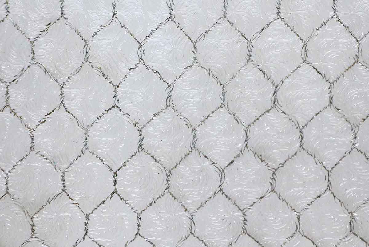 Wormy Vintage Chicken Wire Glass | Olde Good Things