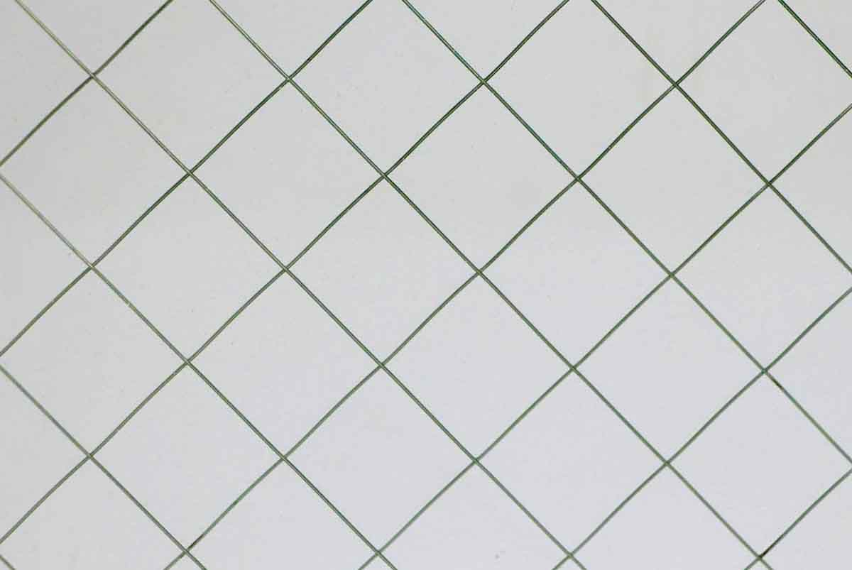 Diamond Square Chicken Wire Glass | Olde Good Things