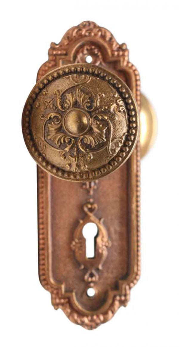 Door Knob Sets - Antique Italian Sargent Passage Door Knob Set