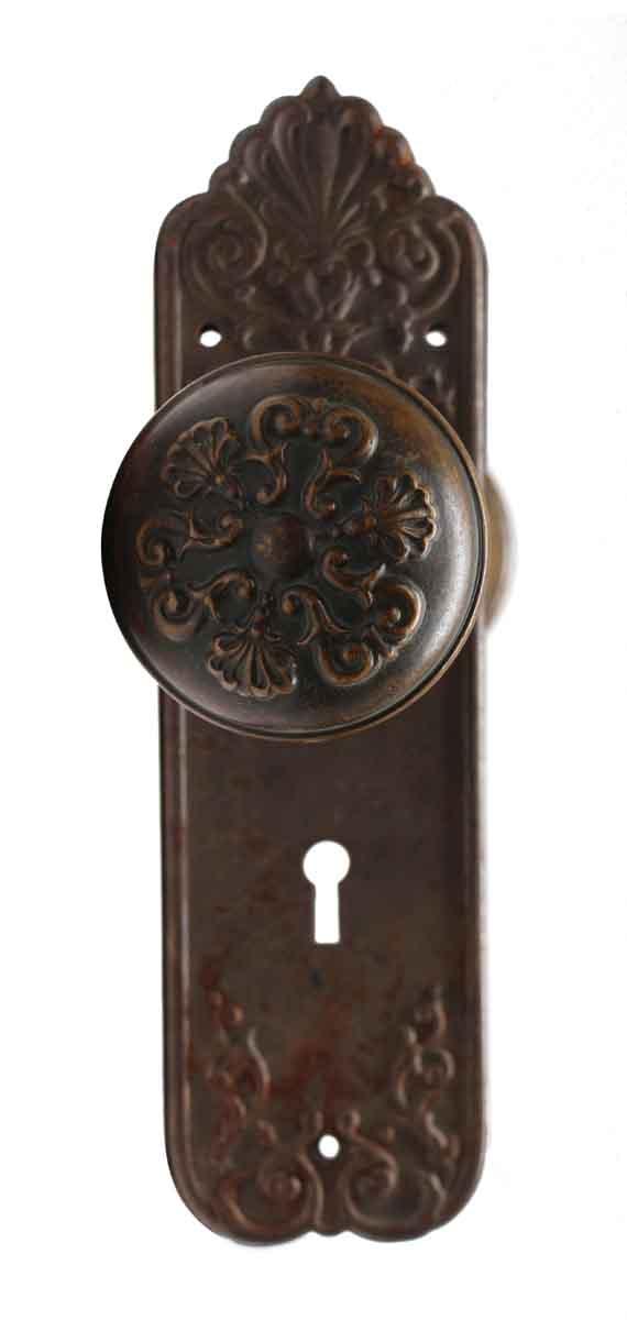 Door Knob Sets - Sargent Italian Renaissance Entry Door Knob Set