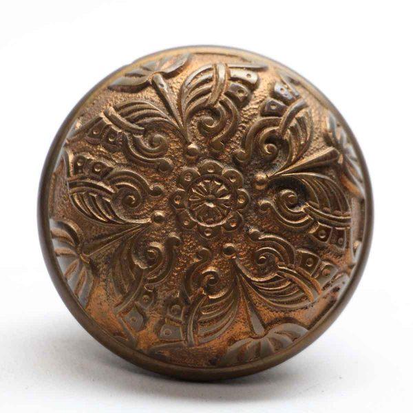 Door Knobs - Antique Branford Bronze Vernacular Door Knob