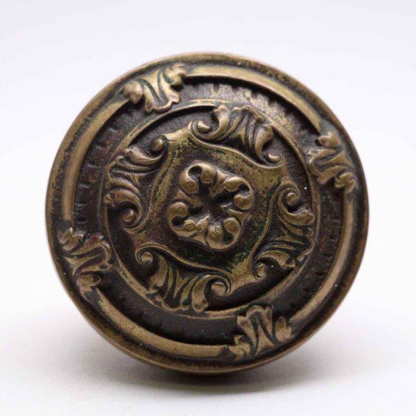Door Knobs - Antique Bronze French 4 Fold Door Knob