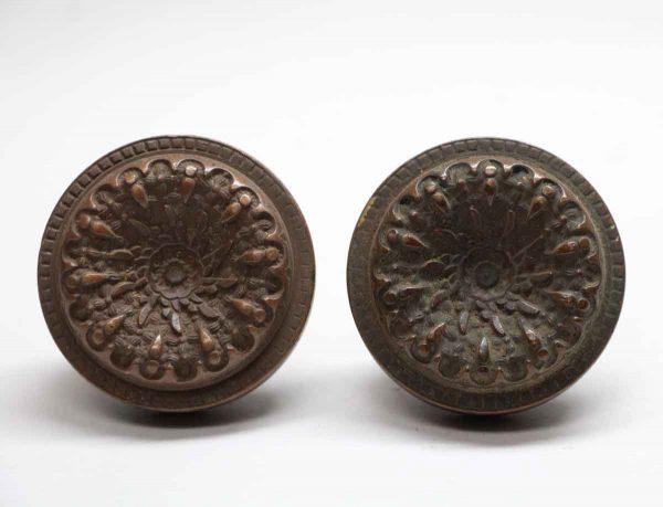 Door Knobs - Antique Bronze Reading Door Knob Set