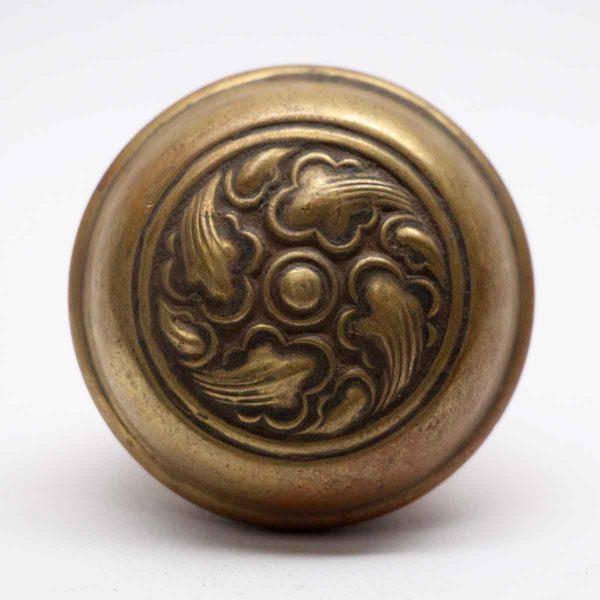 Door Knobs - Antique Swirl Brass Door Knob