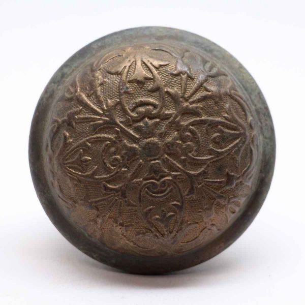 Door Knobs - Cast Bronze 4 Fold Classic Door Knob