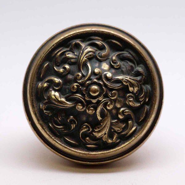 Door Knobs - French Renaissance Bronze Reading Swirl Door Knob