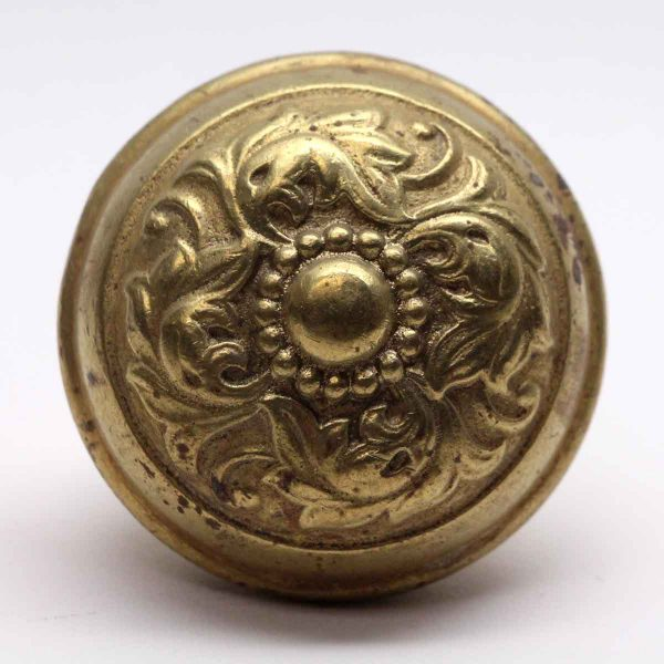 Door Knobs - Gilded Brass Penn Hardware Door Knob