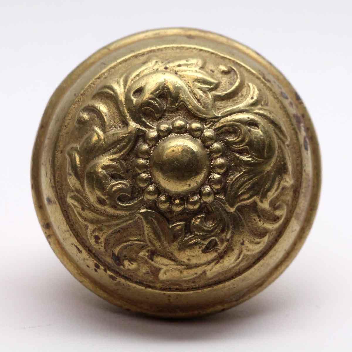Door Knobs   Gilded Brass Penn Hardware Door Knob