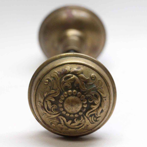 Door Knobs - Swirl Penn Brass Door Knob Set