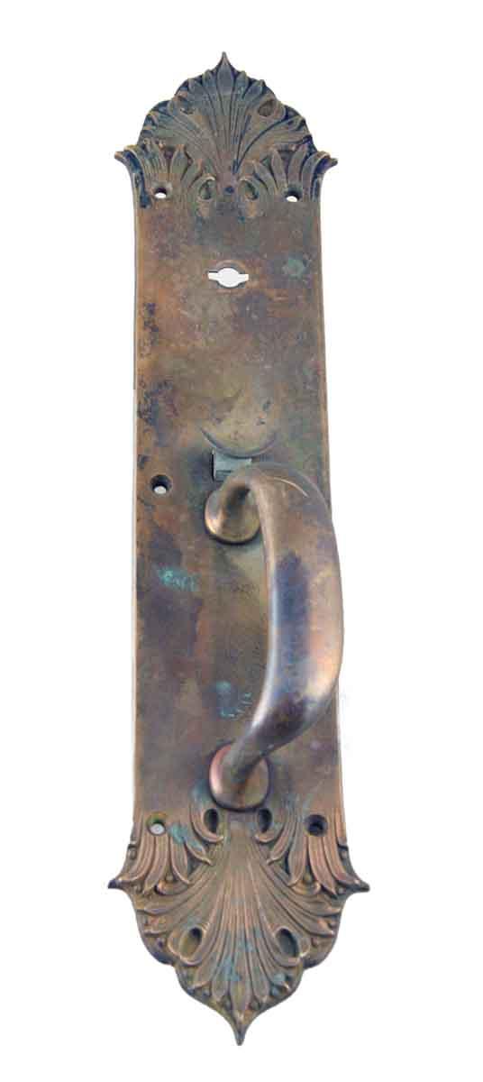 Door Pulls - Antique Sargent Art Nouveau Brass Door Pull