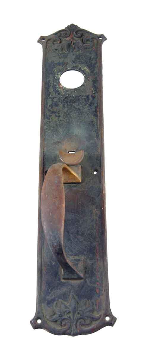 Door Pulls - Bronze Door Pull with Victorian Details
