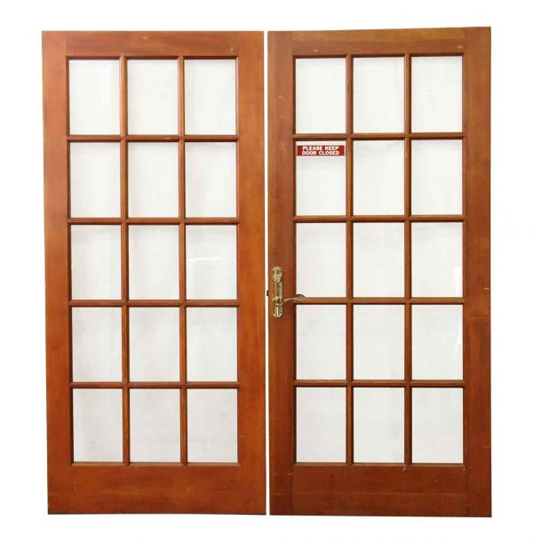 French Doors - 15 Glass Lite French Double Doors