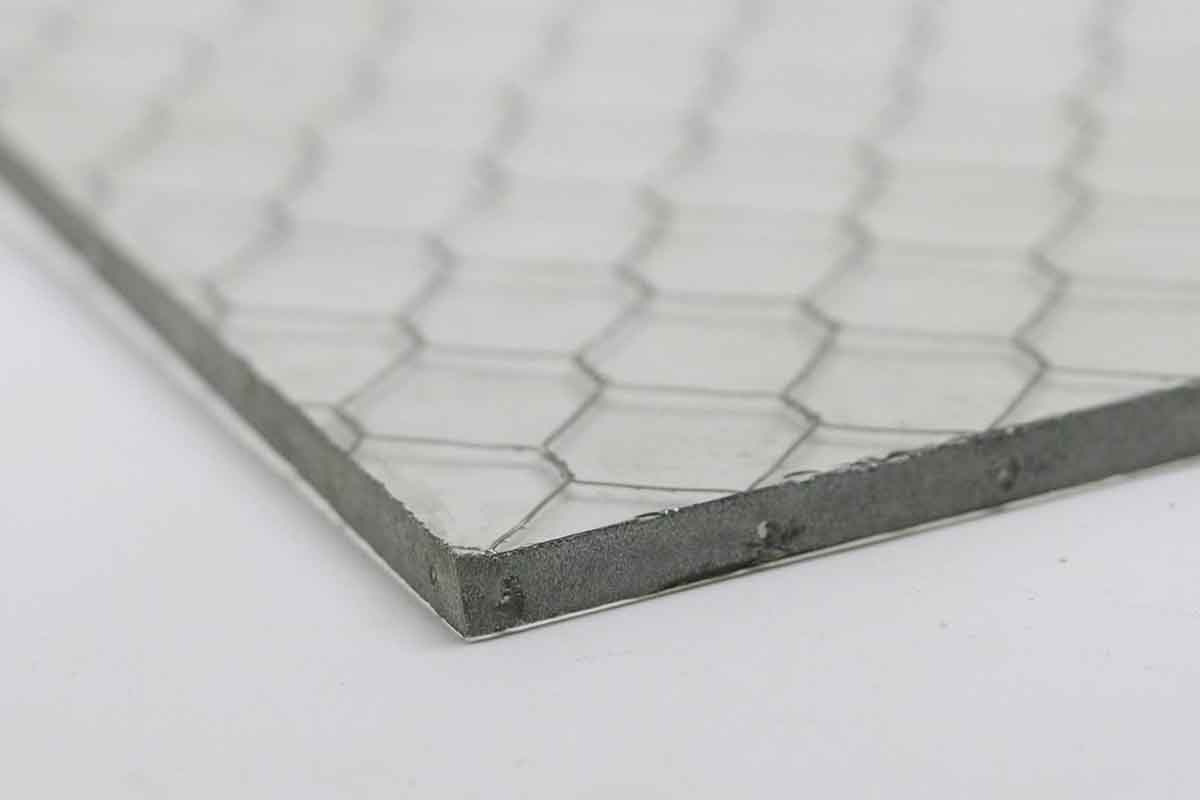 Clear Vintage Chicken Wire Glass | Olde Good Things