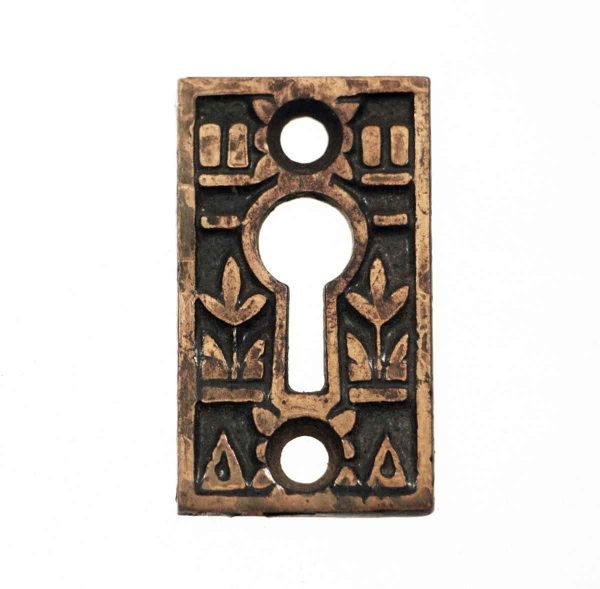 Keyhole Covers - Antique Bronze Keyhole Cover