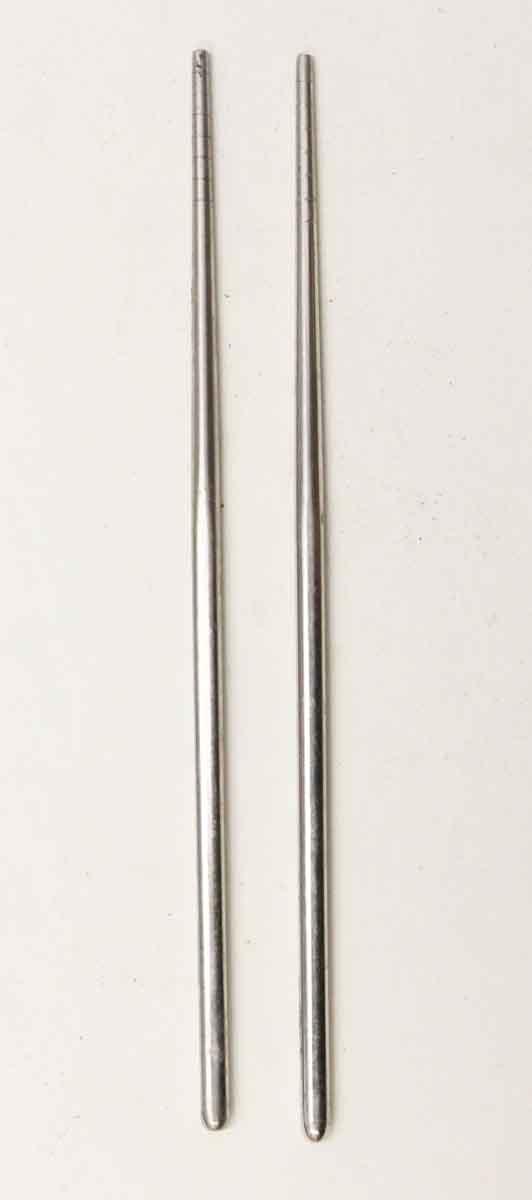 Kitchen - Pair of Salvaged Silver Wooden Waldorf Chopsticks