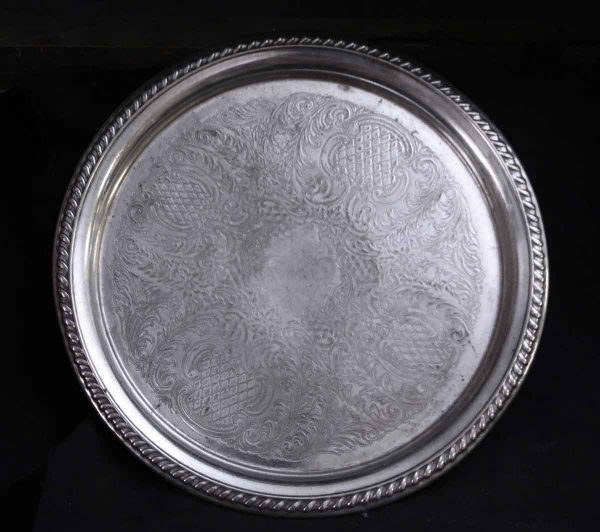 Kitchen - Salvaged Waldorf 11 in. Ornate Serving Tray