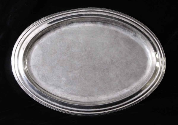 Kitchen - Salvaged Waldorf 16 in. Oval Serving Tray