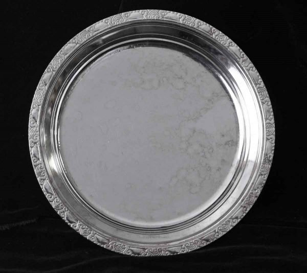 Kitchen - Salvaged Waldorf Astoria Art Deco 10 in. Round Serving Tray